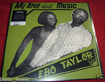 "Ebo Taylor ""my Love And Music"" Mr. Bongo Mrblp132 Lp Afrobeat Funk New & Sealed!"
