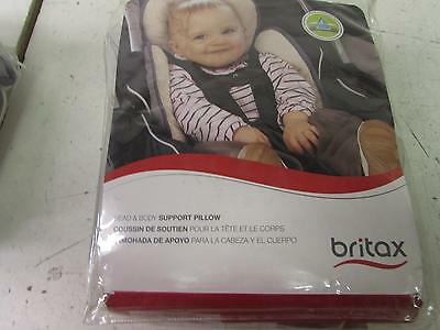 Britax Head and Body Support Pillow, Iron/Gray S864900