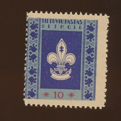 LITHUANIA  - VFMNH - Displaced Persons & Boy Scouts issue - 1946