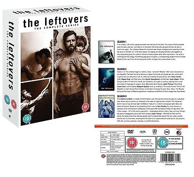 THE LEFTOVERS 1-3 (2012-2017) COMPLETE TV Seasons Series NEW Region 2 DVD not US