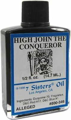 High John the Conqueror Oil 7 Sisters Pagan Wicca HooDoo