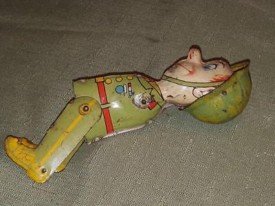 Vintage Marx Gi Joe Tin Toy For Parts