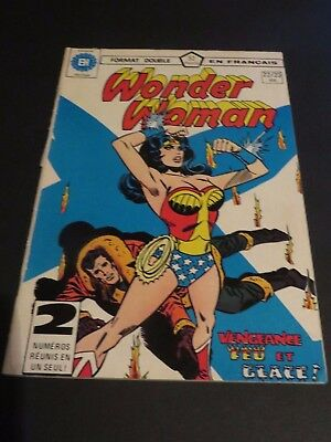 1979 Héritage Edition Canada Wonder Woman Double No.22-23 French