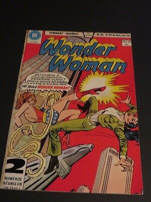 1979 Héritage Edition Canada Wonder Woman Double No.28-29 French
