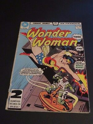 1979 Héritage Edition Canada Wonder Woman Double No.32-33 French