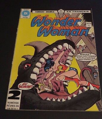 1979 Héritage Edition Canada Wonder Woman Double No.34-35 French