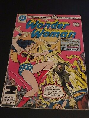 1979 Héritage Edition Canada Wonder Woman Double No.18-19 French