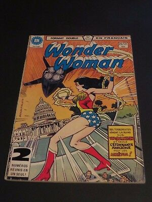 1979 Héritage Edition Canada Wonder Woman Double No.20-21 French