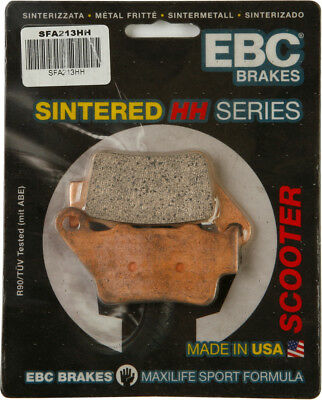 EBC SFA HH Sintered Scooter Rear Brake Pads Single Set For BMW Yamaha SFA213HH