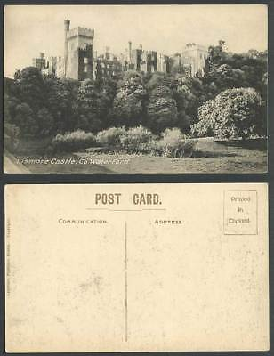 Ireland Co. Waterford Old Postcard THE LISMORE CASTLE, Lawrence Publisher Dublin