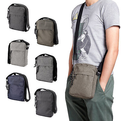 Men Travel Messenger Bag Shoulder Bag Crossbody Handbag Small Bag Simple Style