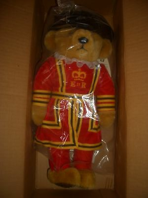 "16"" Yeoman Guard Tower of London Bear Merrythought Original with Box"