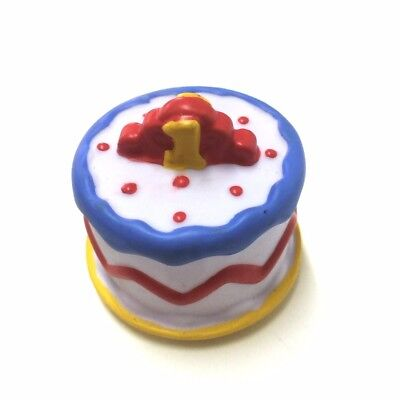 Rare Fisher-Price Little People Birthday Cake 1st Celebrate Party Toy Xmas Gift