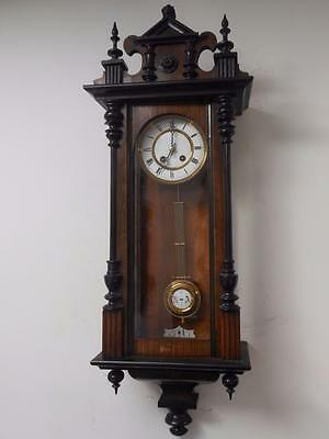 good quality vienna wall clock c1900s