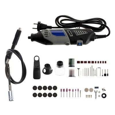 Kit Variable Speed Electric Grinder  Polishing Sanding Accessory Rotary Tool New