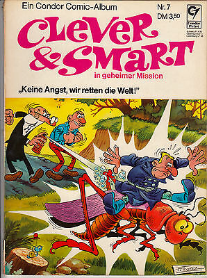 CLEVER & SMART Nr. 7 (2-3) annehmbarer ZUSTAND 1.Auflage Softcover CONDOR