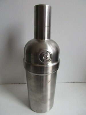 Original New 750ml Stainless Steel Tanqueray Gin Cocktails Shaker New