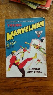 Young Marvelman #171 Australian/British, Captain Marvel GOLDEN AGE