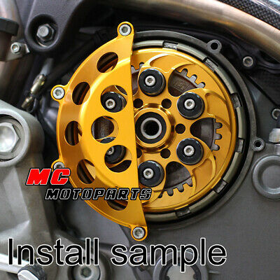 Black CNC Half Dry Clutch Cover For Ducati Supersport 900 750 1000 SS CC45