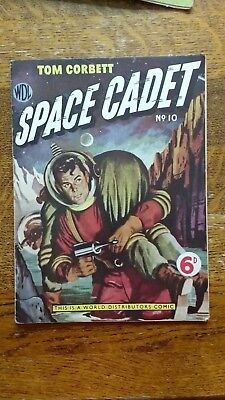 Tom Corbett Space Cadet #10 Australian/British, GOLDEN AGE