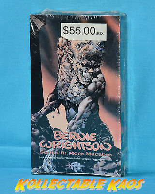 Bernie Wrightson Series 2 Collector Cards Sealed Box