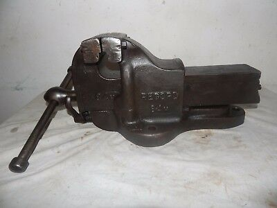 Vintage Record 84 m Engineers Quick Release Vice.