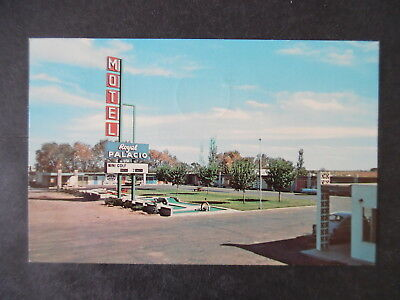 1960s Tucumcari New Mexico Royal Palacio Motel Route 66 Postcard