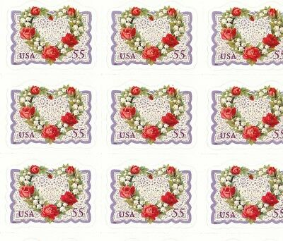 3275   55C   Victorian Love M Nh Full Sheet Of 20