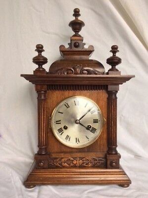 Beautiful vintage striking HAC mantle clock in excellent condition