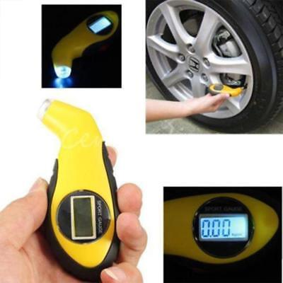 LCD Digital Tire Tyre Air Pressure Gauge Tester Tool For Auto Car Motorcycle S#