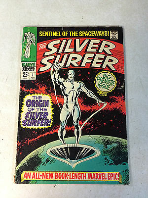 Silver Surfer #1 Origin, Watcher, Buscema, Stan Lee, 1968, Super Key 1St Issue