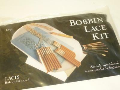 LACIS BOBBIN LACE KIT Beginner Lacemaking Kit Complete & SEALED