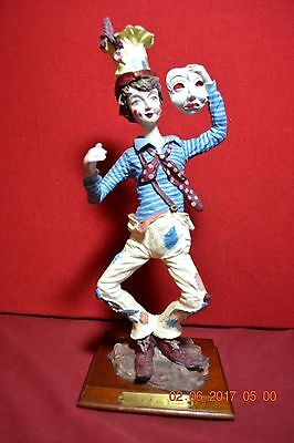 Duncan royale Mask of the Clowns Figurine