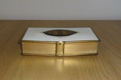 1870's Holy Bible With Brass Clasp & Edging, Victorian, Antique, Religion