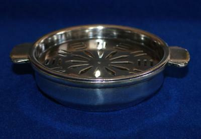 Vintage Cunard White Star Silverplated Butter Serving Dish , Signed