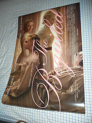 """Sofia Coppola THE BEGUILED original movie poster DS 27x40"""" New 2017 Elle Fanning"""
