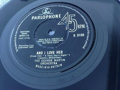 beatles - ringo's theme [ this boy ] / and i love her rare uk record '64 ex+ con