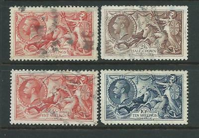 Small collection of mixed used GV Seahorses stamps.