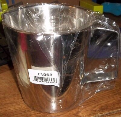 Polar Ware 18-8 Stainless Steel T1063 32Oz 1000Cc Measuring Cup Graduated (Ll2)