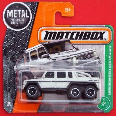 MATCHBOX 2017  MERCEDES-BENZ G63 AMG 6x6