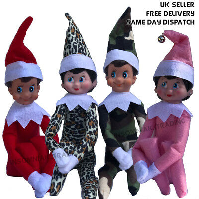 Elf On The Shelf Doll + Book, Boy, Girl, All Colours available!