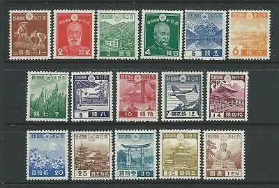 Small collection of mounted MINT Japan stamps.