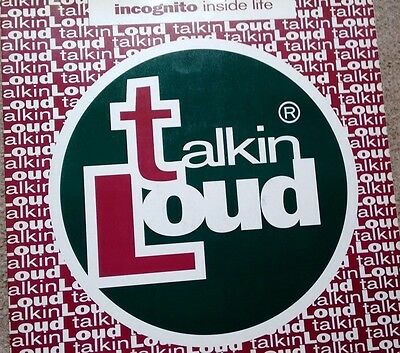 "Incognito: Inside Life (Talking Loud 12"") Vinyl"