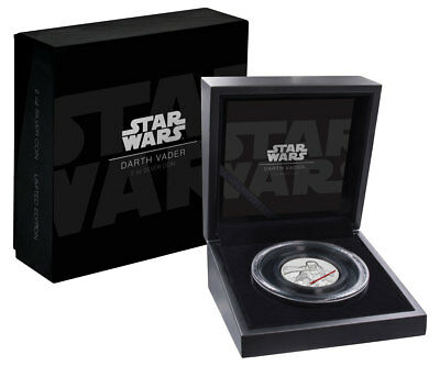 2017 Niue Star Wars -Darth Vader Ultra High Relief 2 oz Proof Silver $5 SKU49467