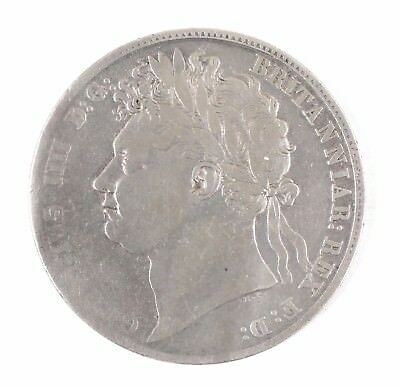 1820 Great Britain George IV British Half Crown Silver Coin