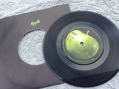 the beatles - something / come together original uk 1st press 1/u 1969 record
