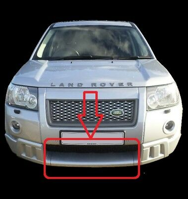 HST bodykit Front center Tow eye cover for Land Rover Freelander middle bumper