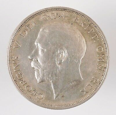 1912 Great Britain George V British Half Crown Silver Coin