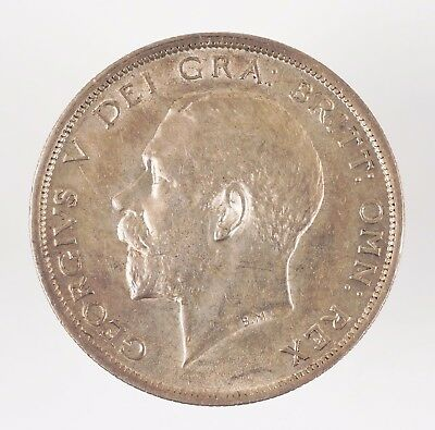 1918 Great Britain George V British Half Crown Silver Coin