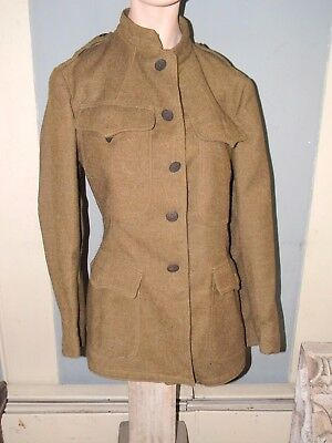 Two World War One Army Coats / Tunic Wwi